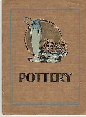 Roseville Pottery Brochure - 1930 - 24 pages