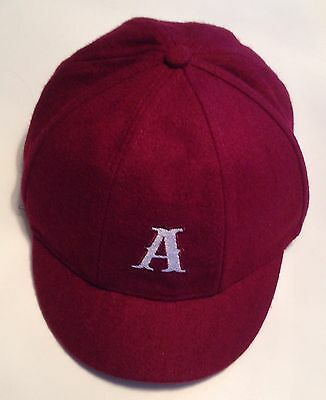 """AC/DC Angus Young """"A"""" Logo School Boy HAT Rock Or Bust Tour"""