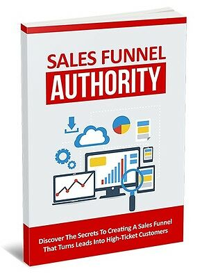 Discover The Secrets To Creating A Sales Funnel- eBook, Videos and Bonuses 1 CD