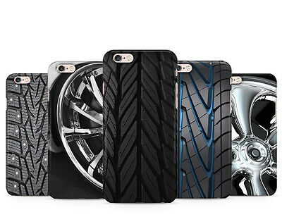 Car Wheel Grip Vehicle Power Plastic Gel Phone Case Cover For Iphone