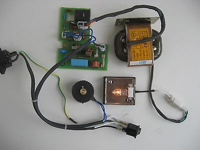#501 Komplette Mikroskop-Beleuchtung 6V20W / complete microscope illumination