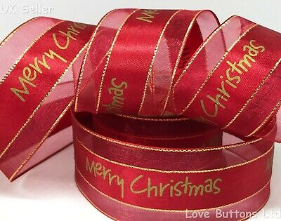 SASSY SEQUINS /& TINSEL on sheer Organza  63mm Luxury Wire Edge Ribbon