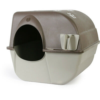 Omega Paw Roll'n Clean Self Cleaning Litter Box Large - SAME DAY DISPATCH
