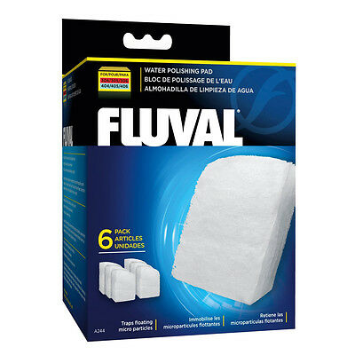 Fluval Water Polishing Pad for 305/406 (6 pieces) - SAME DAY DISPATCH