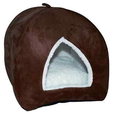 Happy Pet Igloo Cat Bed Brown - SAME DAY DISPATCH