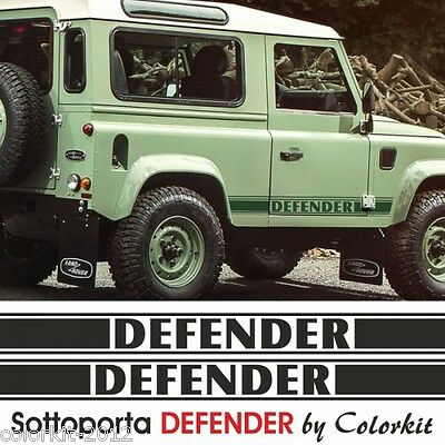 Fasce laterali adesive sottoporta Land Rover DEFENDER - by Colorkit Cod.001200