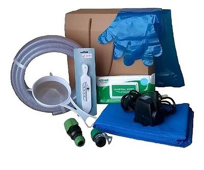 Deluxe Filling and Emptying Kit for Birthing Pool  (B-003)