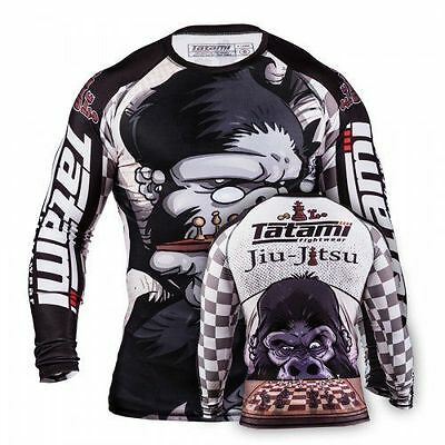 Tatami Chess Gorilla Rash Guard Rashguard BJJ Jiu Jitsu Compression No-Gi MMA