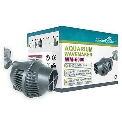 All Pond Solutions WM-5000 Aquarium Dual Powerhead Wave Maker 5000L/H Flow Rate