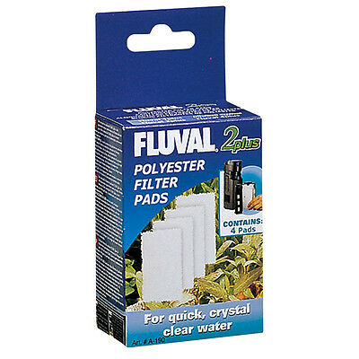 "Fluval 2 ""PLUS"" Polyester Pad (4pcs) - SAME DAY DISPATCH"