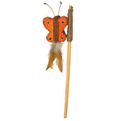 Rosewood Butterfly Teaser Cat Toy - SAME DAY DISPATCH