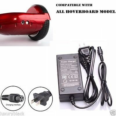 Power Adapter Charger For Two Wheel Self Balancing Scooter Hoverboard Unicycle