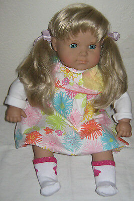 Handmade Lissi Doll Made In Germany Blonde 21''