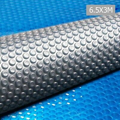 New Solar Pool Blanket 400 Micron Outdoor Swimming Pool Cover Thermal 6.5M x 3M
