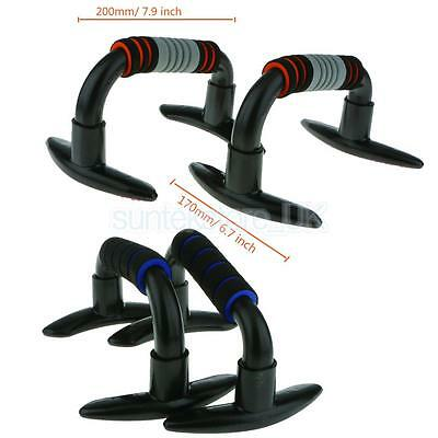 1 Pair Push Up Bars Pushup Stands Handles Bar Equipment Strength Exercise Grips