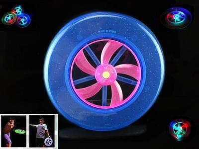 UFO Frisbee for Educational Beach toys Kids Toy UFO Light flash Children LED