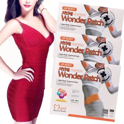 1 Pack MYMI Wonder Slimming Patches Belly Arm Lose Leg Fat Body Exercise Patch