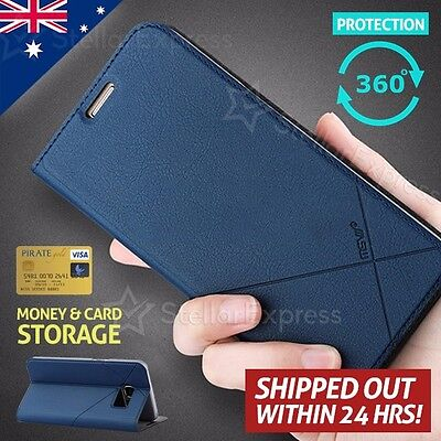 Msvii For LUXURY LEATHER WALLET Flip Case Cover For Samsung Galaxy S7 Edge / S7