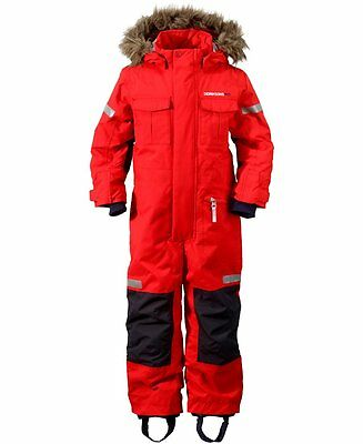 Didriksons Migisi Kids Snowsuit/Coverall - Tomato Red