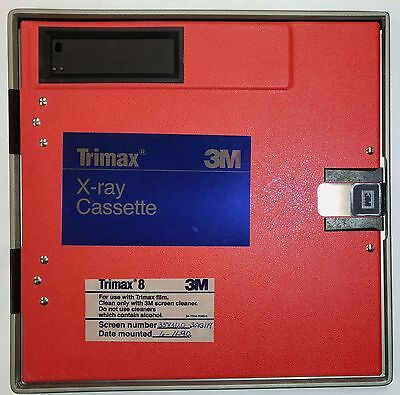 Trimax 8 3M X-Ray Cassette with 2 Green-Emitting Intensifying Screens 24x24cm