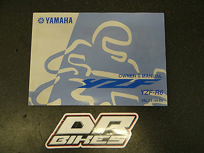 Yamaha R6 5SL Owners Manual