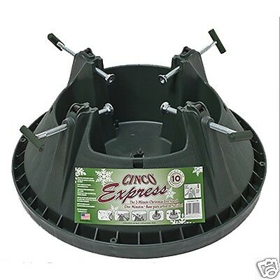 Cinco Express 10 ft (3m) Christmas Xmas Tree Stand heavy Duty & Water Reservoir