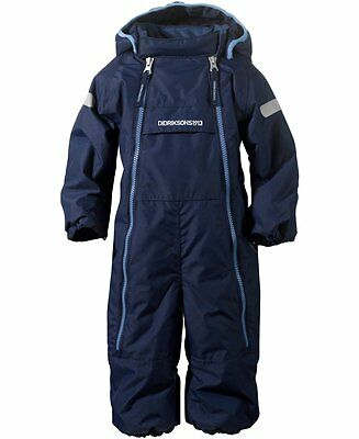 Didriksons Borga Baby Snowsuit/Coverall | Navy