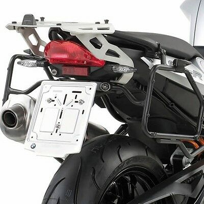 Support valises laterales a demontage rapide monokey Kappa klr693 Bmw f 800 r de