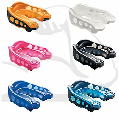 Shock Doctor Gel Max v2 Gum Shield Mouth Guard Youth Boxing Rugby MMA All Colour