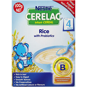 Nan Cerelac Infant Cereal Rice 200G NEW Cincotta Chemist