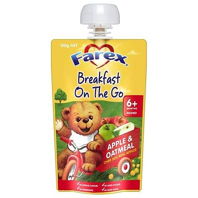 Farex Breakfast Apple & Oatmeal 6 Months+ NEW Cincotta Chemist