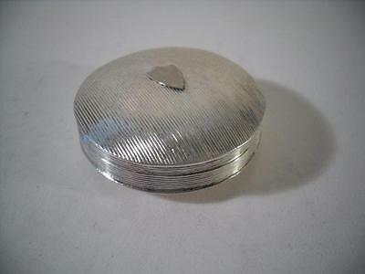 An Antique Dutch Silver Snuff / Tobacco Box : Netherlands 1833