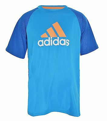 Adidas Big Boys Climacool TShirt Performance Crew Tee Active Athletic Sports