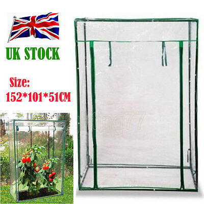 Mini Outdoor Garden Planter Grow House Tomato Growbag Greenhouse with PVC Cover