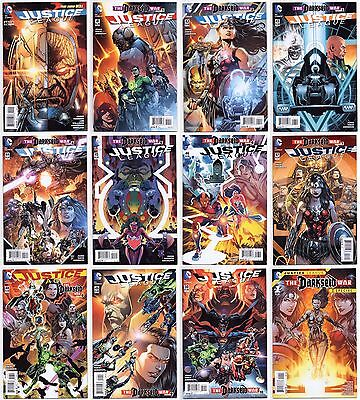 Justice League #40-50 + More All Nm 1St Prints! Darkseid War 1St Grail Lot Of 12