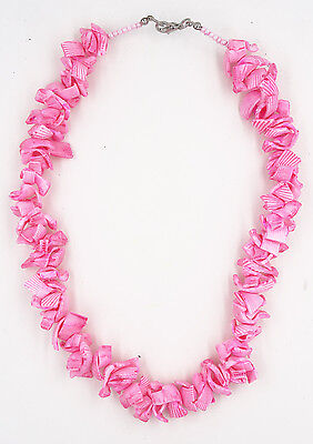 Fabulous New Handmade Pink Puka Shell Necklace
