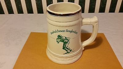Saskatchewan Roughriders 17Th 100 A Plate Dinner 1969 Cup Mug Hycroft