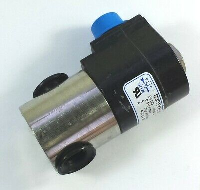 GC Valves S301YH16N3CF5 3/8FPT SS 24VDC2W-NC 5PSI solenoid valve