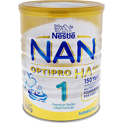 Nestlé NAN OPTIPRO HA 1 Gold starter infant formula powder tin 6 x 800g