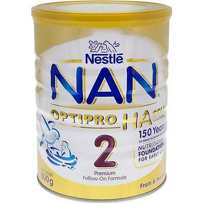 Nestlé NAN OPTIPRO HA 2 Gold follow on infant formula powder tin 6 x 800g