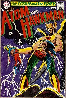 Atom And Hawkman #40 - FN-
