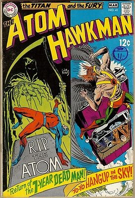 Atom And Hawkman #41 - FN-