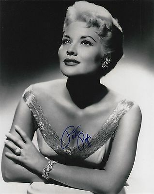 Signed Original B&W Photo of Patti Page of 1950's Music Recordings & TV