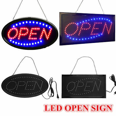 Ultra Bright LED Neon Light Animated Motion with ON/OFF OPEN Business Sign US E1