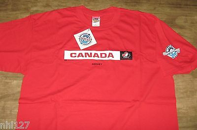 8a86c21b67f 2004 WORLD CUP of Hockey Nike Official T-Shirt Adult XL T-Shirt NWOT ...