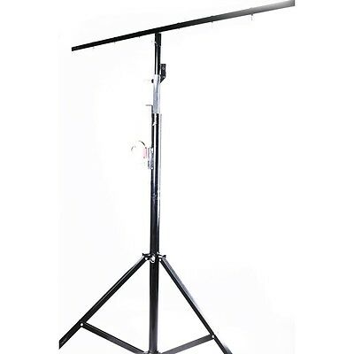 HXH Crank Lighting Stand 4Meters with 2 Meters T BAR 50Kg Load
