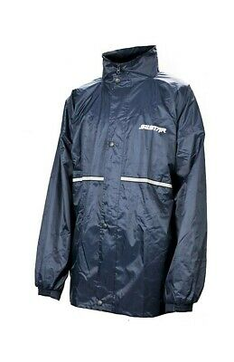 Silstar Professional Waterproof Rain Jacket/Rain Coat-Zip and Button Up Front
