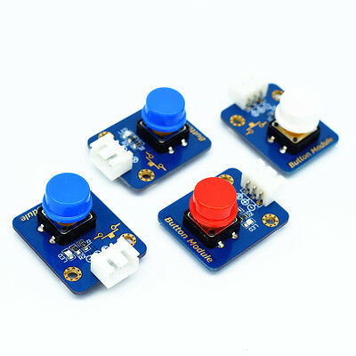 Adeept 4pcs Digital Push Button Keypad Module for Arduino and Raspberry Pi AVR