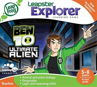 NEW LeapPad and Leapster Explorer Learning Game Ben 10 from Mr Toys Toyworld