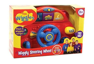 NEW The Wiggles Wiggly Steering Wheel from Mr Toys